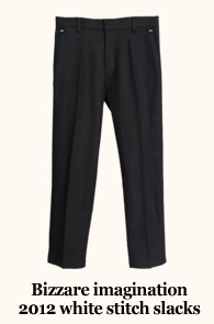 White Stitch Slacks<br>'Basic, But ...'<br>����̹����߰��Ǿ���ϴ�!<br>ss������κ����԰�Ǿ���ϴ�