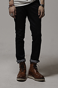 resonance) Slim fit denim pants_1