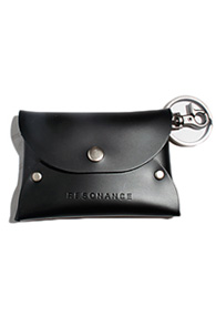 resonance) font card case BLACK