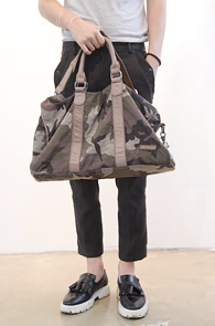 Camouflage Boston Bag<BR>ī���ö��� ����, ���� ����Ƽ<br>��������� ������Ƽ �����Ϲ�