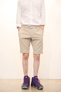 Aster Garment Short Pants Beige<br>������ ����ó��, ������ �÷�<br>�ƽ����� ��ư ��������