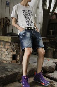 Ivory Col Painting Detail T-shirts <br>������ �������� ��Ʈ�ִ� ������<br>���̺��� �÷��� ������ �Ƿ翧
