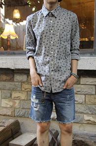 Paisley pattern jacquard shirts<br>������ ������ �ڰ������<br>ij�־�,������ ��밨<br>������ ��ǰ ����!