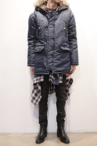 (Used) Navy Camo N3B Jacket