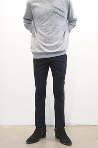 Navy Slim Span Slacks<br>���̺� �÷�,��������<br>��밨�� ���� �⺻ ���̺񽽷���