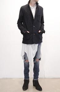 Navy Kint Blazer Jacket<br>��Ʈ����, �?���� ������<br>����ǰ��� ������ �?���� ����