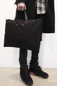 Black Mono Cotton Tote Bag<br>�?�÷�, ��ư����<br>����� �������� �������� ��Ʈ��