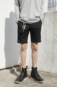 Black TR Half Slacks Pants<br>�?�÷�, TR����<BR>��Ʈ�� ���尨�� ���� ����������