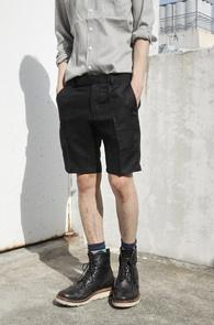 Black Linen Half Pants<br>�?�÷�, ���ټ���<br>������ �������� ���� ���� ������