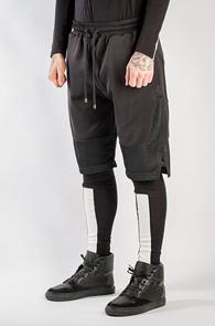 Black Mesh Mix Half Pants<br>�?�÷�, ���ͽ�<br>����ϸ鼭�� �ڽ����� Ʈ���̴�����