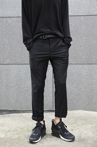Fall Slim Black Slacks<br>�?�÷�, ������ ��<br>������ ���� ������ ������