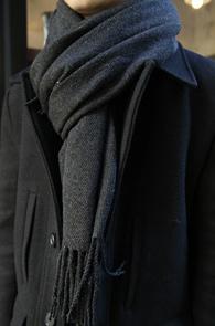 Charcoal Wool Muffler<BR>�����, ���� �÷�<BR>�ܿ�ö �'� �������� �� ���÷�