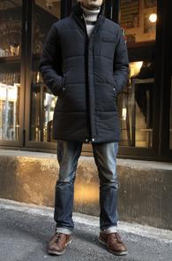 Black China Collar Padding Coat<br>�?�÷�, ���̳� ī�� ������<br>����� �������� �е� ��Ʈ