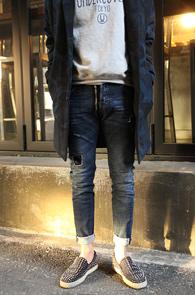 Blue Front Zipper Denim Pants<br>����÷�, ���̰���<br>����Ʈ ���� �������� ��������