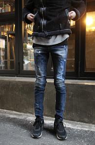Blue Washing Skinny Denim Pants<br>�����, ���̰��� �÷�<br>��Ƽ���� ������ ��Ű�� ����