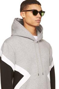 Grey Neoprene Hood T-Shirts<br>�����÷�, ������ ����<br>����� ������ ������ �ĵ�