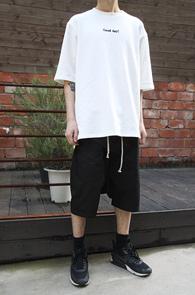 White Over Fit Lettering T-Shirts<br>ȭ��Ʈ�÷�, ������<br>�������� ���� Ƽ����