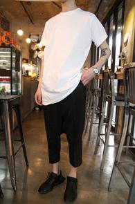 White Cotton Over Fit T-Shirts<br>ȭ��Ʈ�÷�, ��ư����<br>�ڽ��� �Ͱ��� �� Ƽ����
