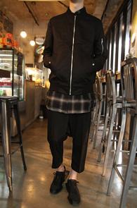 Black Basic Cotton MA-1 Slim Jacket<br>�?�÷��� ��ư����<br>������ �Ͱ��� MA-1 ����