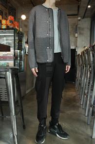 Grey Round Embo Jacket<br>�����÷��� ��������<br>���� ������ ����� ����