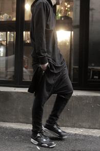 Black Long Hood T-Shirts<br>�?�÷��� ��ư����<br>��Ʈ�� �������� �ĵ�Ƽ