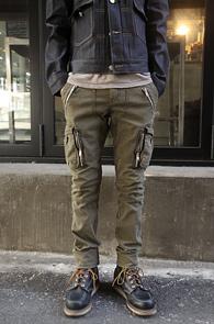 Vintage Multi pocket Cargo pants<bR>īŰ�÷��� ��ư����<BR>������ �Ͱ��� ���� ī������