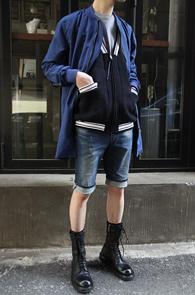 Blue Color Single Coat<br>����÷��� �ú��� ����Ʈ�Դϴ�<br>���� �β����� ������ �Ƿ翧