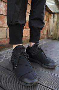 Black Cotton Crop Jogger Pants<br>�?�÷��� ��ư����<br>������ �Ͱ��� ��������