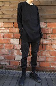 Eden String Black T-shirts <br>��Ʈ�� �� Ƽ����<br>��������� ������ ���̾�尨