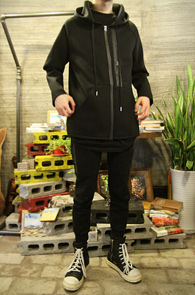 Black Neoprene Zipprer Hood<br>�?�÷��� ������ ����<br>������� �������� ������ �ĵ�