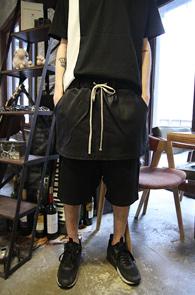 Black Coated Double Layered Pants<br>���� ��ĿƮ ���̾�� ����<br>���� ���尨�� ���̾�� �� �Ƿ翧