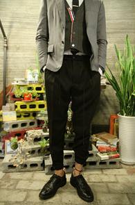 Black TR Jogger Pants <br>�?�÷��� TR���� ��������<br>Ʈ������ �پ ���Ǽ�