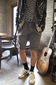 Grey String Half Pants<br>������ �������� ���� �÷�<br>��Ʈ�� �������� �����̴� ��������