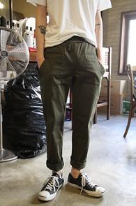 Khaki Cotton Cargo Pants<br>īŰ�÷��� ��ư����<br>��Ʈ����Ʈ ���� ī�� ����