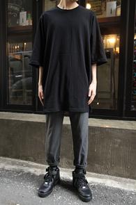 Black Over Fit Box T-Shirts<br>�?�÷��� �����ִ� �Ͱ�<br>�ڽ��� �Ͱ��� ������ Ƽ����