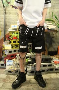 2Color Off White Half Denim Pants<br>����÷��� �?�÷� �ΰ����� ��<br>�������� �����̴� ��������