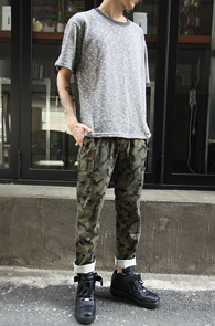 Grey Knit T-Shirts<br>�������� ����ũ�� ����<br>��Ʈ ������ ������� ���۵� Ƽ����