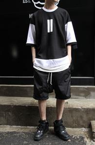 Overfit Drop Shoulder 11 T-shirts<br>������ ������ Ƽ����<br>������ũ�� �Ƿ翧 ��Ӽ��