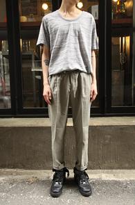 Basic Grey U-Neck T-Shirts<br>��ư����, ����� �Ͱ�<br>����� ��ũ������ ����Ƽ����