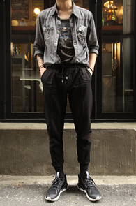 Banding Linen Black Pants<br>��������, ���� ���ټ���<br>����ö���� Ȱ�밡���� ��� ������