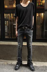 Basic Black U-Neck T-Shirts<br>��ư����, ����� �Ͱ�<br>����� ��ũ������ ����Ƽ����