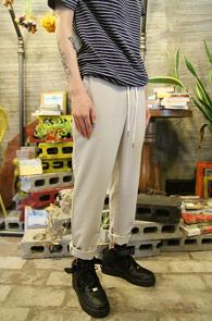 Banding Straight Beige Pants<br>������ �÷�, �㸮 ��� ������<br>��Ʈ����Ʈ ���� ��ư����