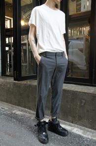 Pocket Ivory T-Shirts<br>���̺����÷�, ���ϵ�����<br>������ ���� �⺻ Ƽ����