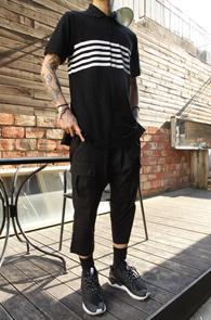 Black Long PK Shirts <br>�? �÷��� �� ���� ����<br>���� ���尨�� Ʈ������ �Ƿ翧