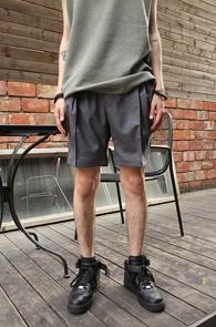 Grey Banding Short Half Pants<br>�����÷�, ��� ������<br>��Ʈ�� ���尨�� ��� ����