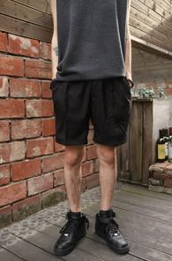 Black Banding Short Half Pants<br>�?�÷�, ��� ������<br>��Ʈ�� ���尨�� ��� ����
