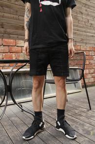 Black Coating Biker Half Pants<br>�?�÷�, ���ð��� ���<br>����Ŀ �������� ��������