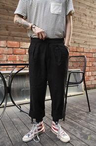 Black Linnen Wide Fit Pants<br>�?�÷�, ���� ����<br>���̵��� �Ͱ��� ����