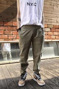 Khaki Span Banding Pants<br>īŰ �÷�, ���༺ ���� ���<br>�㸮 ���������� ������ ����