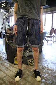Stripe Banding Denim Pants<br>��Ʈ������ ����, ��� ������<br>���Լ���� ���۵� ��������